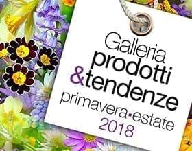 Galleria prodotti&tendenze Primavera-Estate 2018