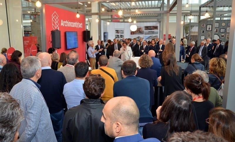 Inaugurazione Archincontract a Cersaie 2019