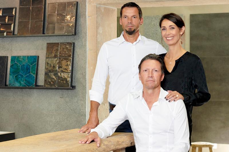 Bernard, Martina und Hubert Nägeli
