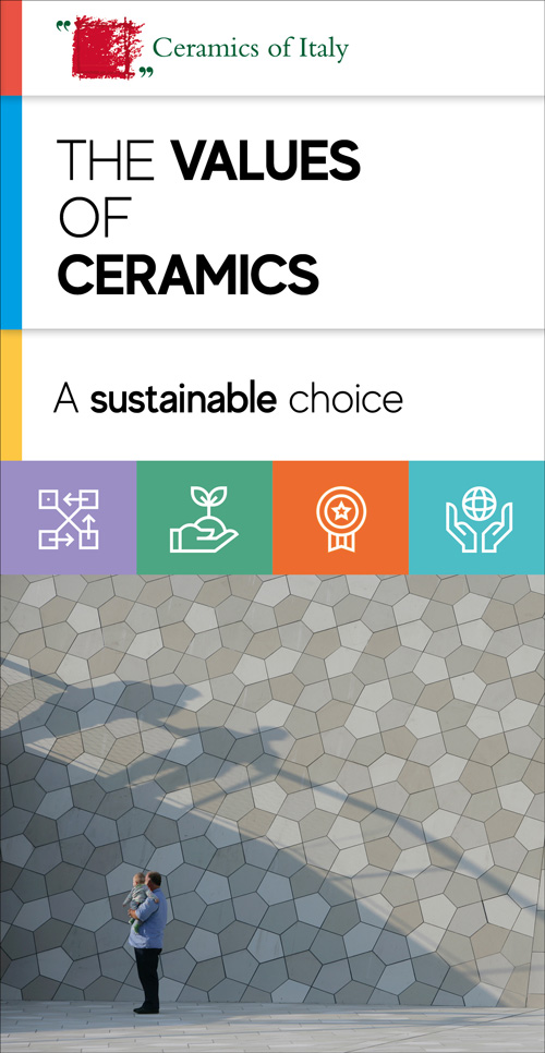 The values of ceramics, a sustainable choice