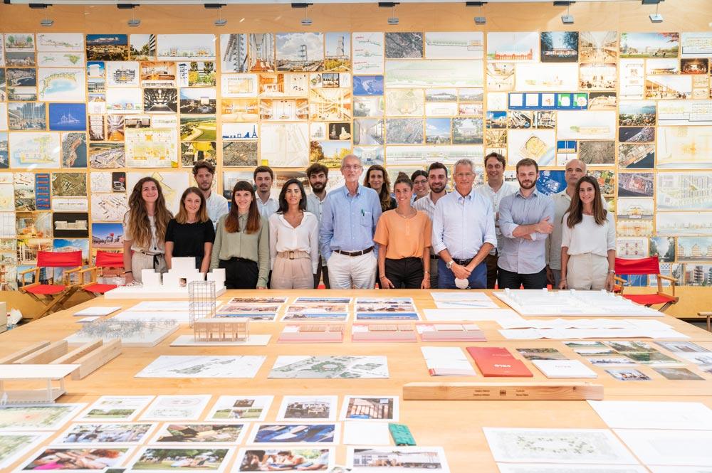 Renzo Piano e il gruppo G124 del 2020-2021