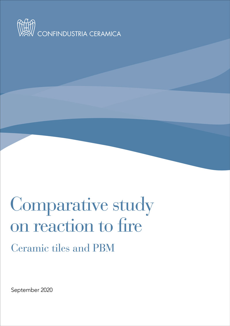 Comparative study on reaction to fire Ceramic Tiles and PBM
